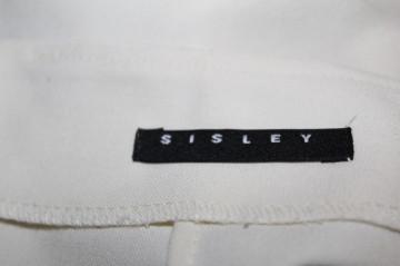 "Fustă ivoire ""Sisley"""
