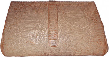 Plic vintage din piele veritabila de elefant anii '30 - '40