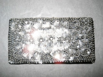 Plic vintage paiete argintii anii '40 - '50