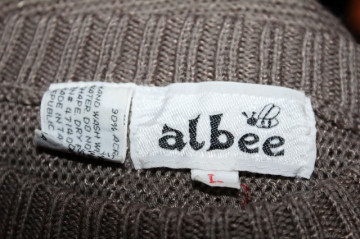 "Pulover retro ""Albee"" anii '80"