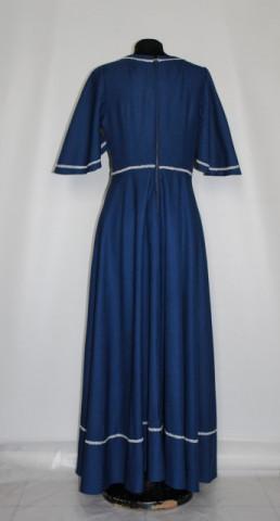 Rochie de seara bleumarin anii '70