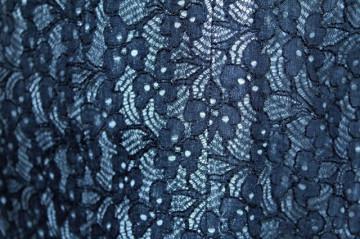Rochie de seara vintage din dantela neagra anii '60