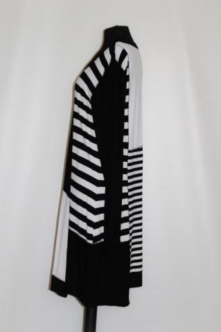 Rochie dungi alb cu negru anii '90