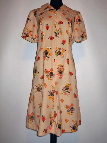 Rochie flori anii '60