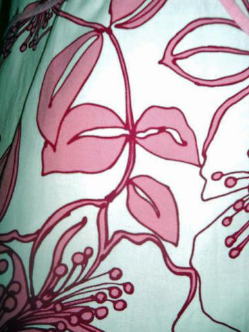 Rochie flori roz repro anii '70