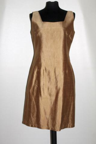 Rochie maro bronz repro anii 60