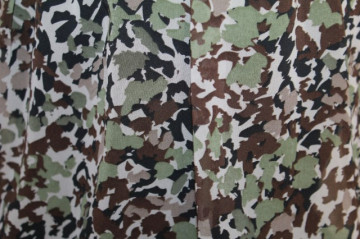 Rochie print camuflaj anii '90