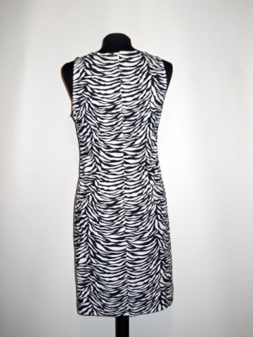 Rochie print zebrat repro anii '60