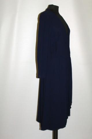 Rochie vintage din chiffon de mătase naturală anii 70