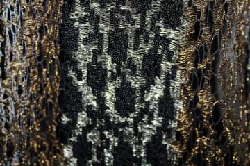 Sal /esarfa din fir metalic Art Deco anii '20