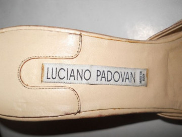 "Sandale ""Luciano Padovan"""