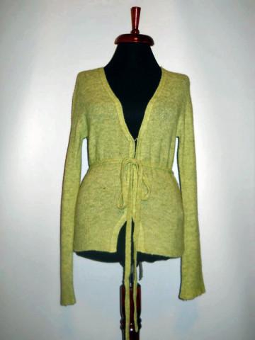Cardigan verde repro anii '70