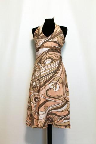 "Rochie print floral stilizat ""Vero Moda"" repro anii '70"