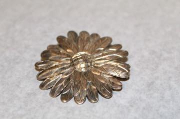 Brosa antique floare perioada victoriana cca. 1880