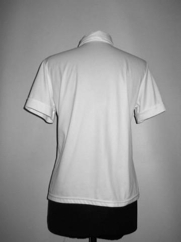 Camasa vintage alba poliester anii '70
