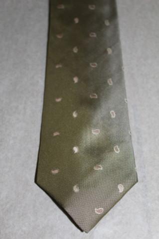 Cravată kaki Westbury anii 70