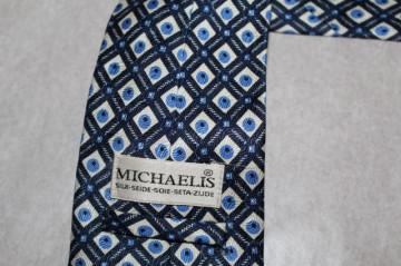 "Cravata romburi si buline ""Michaelis"" anii '80"