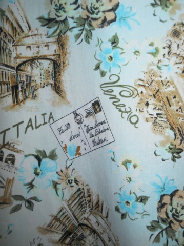 "Fusta ""Dorothy Perkins"" print italian anii '90"