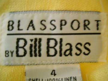 """Fusta mini galbena """"Bill Blass"""""""