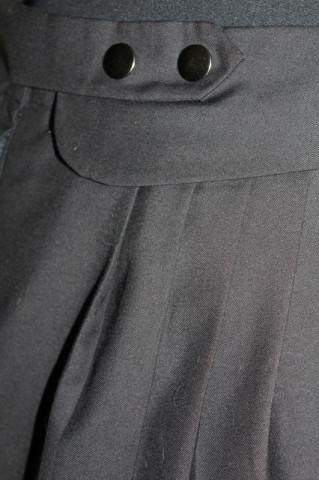 Fustă mini neagră repro anii 80