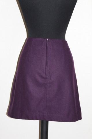 Fusta violet repro anii '60