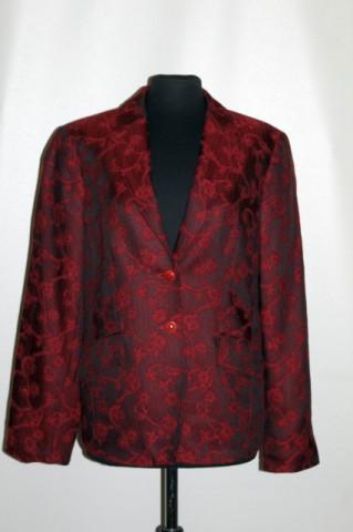 Jachetă vișinie Betty Barclay anii 90