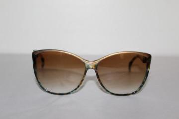 Ochelari de soare rame leopardate turcoaz anii '70