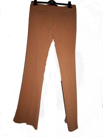 Pantaloni vintage evazati maro anii '70
