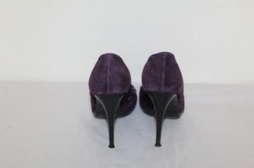 Pantofi violet fundita repro anii '80