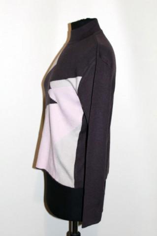 Pulover retro bicolor anii '90