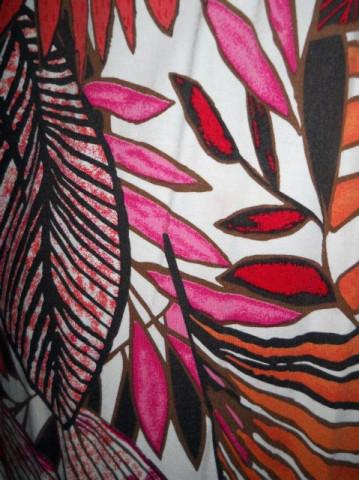 Rochie jungle print repro anii '70