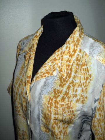 Rochie vintage snake print anii '70