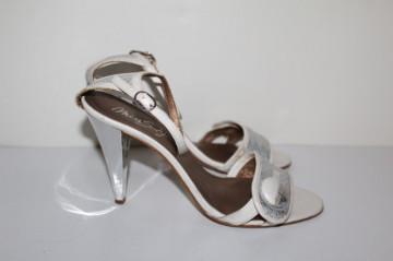 Sandale argintii Miss Sixty