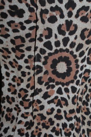 Bluză animal print Roberto Cavalli anii 90