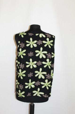 Bluza flori verzi anii '90