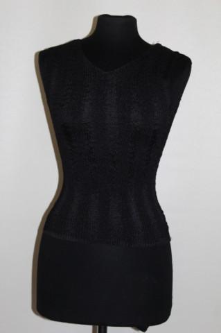 Bluza neagra din cloque anii '90