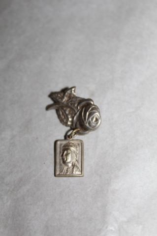 Broșă Sf. Therese din Lisieux perioada edwardiană cca. 1900