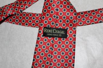 "Cravata cerculete ""Rene Chagal"" anii '70"