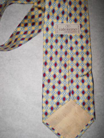 """Cravata retro """"Valentino"""" anii '80"""