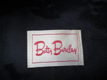 "Deux pieces retro dungi ""Betty Barclay"" anii '80"
