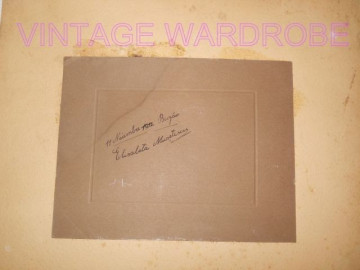Fotografie cu rama originala pictata manual 1912