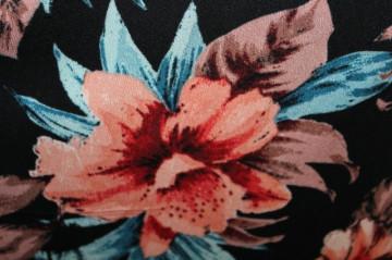 Fustă flori frez anii 90