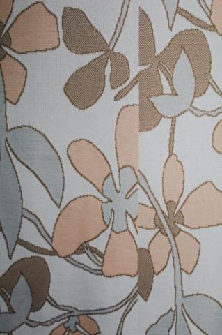 Fusta vintage gri lunga cu flori uriase anii '60