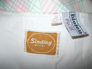 "Fusta vintage ""Sinding Model"" anii '60"