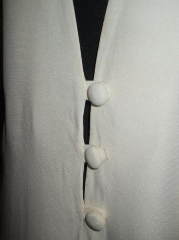 Jacheta retro ivoire de ocazie anii '80
