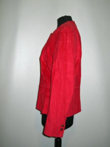 Jacheta retro rosie anii '80