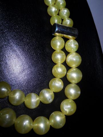Margele galben citron anii '60