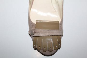Pantofi ornament frontal kaki Corso Como
