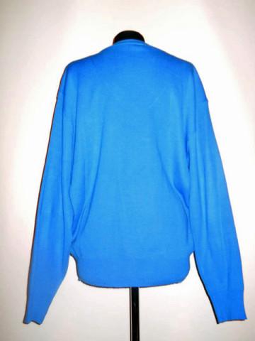 """Pulover """"Lacoste"""" albastru anii '70 - '80"""