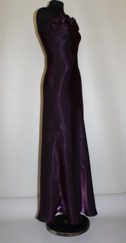 Rochie de seara din moar violet anii '90
